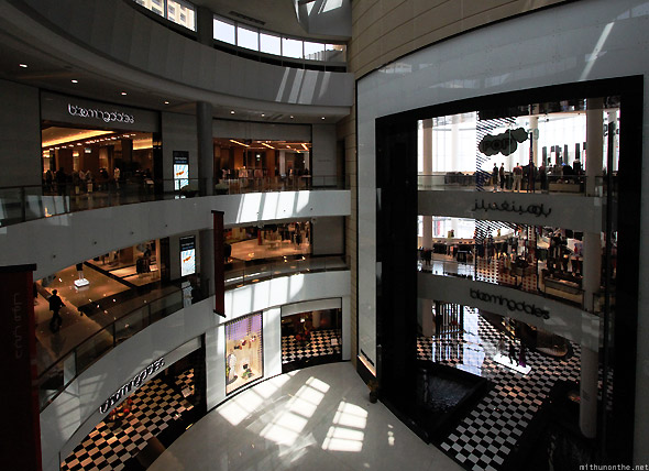Dubai Mall Bloomingdales store