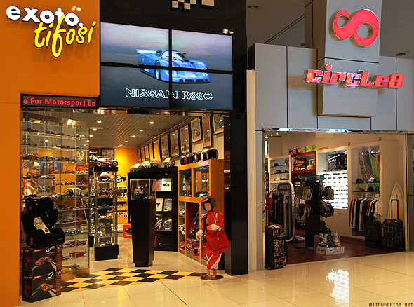 Dubai Mall Exoto Tifosi Circle8 shop