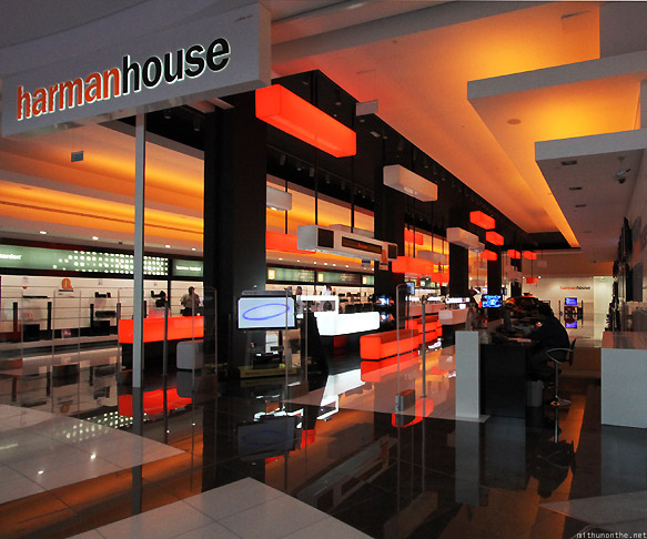 Dubai Mall Harman House showroom