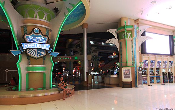 Dubai Mall Sega Republic