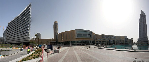 Dubai Mall The Address panorama