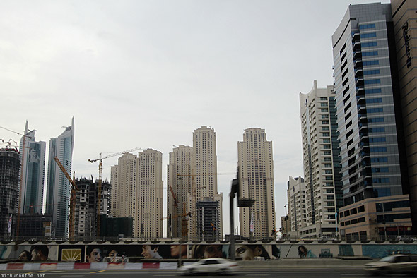 Dubai Marina Jumeirah Lake towers