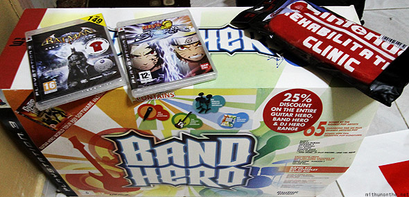 Band Hero gaming haul Dubai
