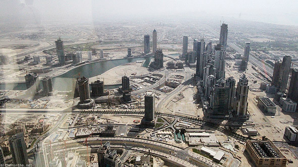 Burj Khalifa Downtown Dubai construction