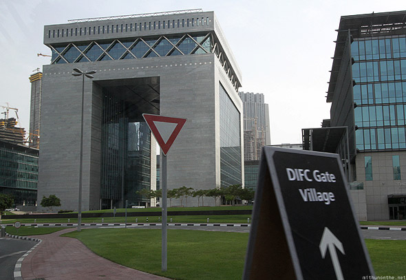 DIFC village office building Dubai