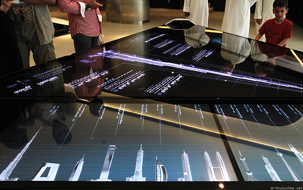 Dubai Mall Burj Khalifa lobby structures comparison