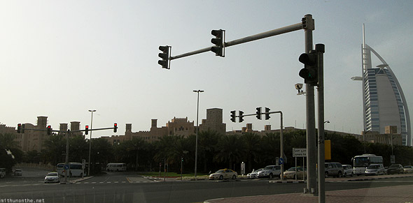 Jumeirah traffic light