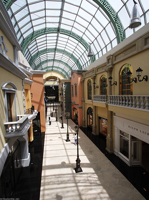 Mall of Emirates glass dome Ralph Lauren