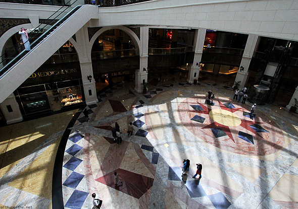 Mall of Emirates marble floor