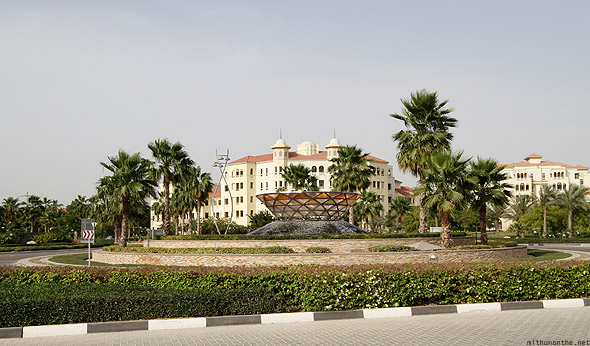 Roundabout near Al Badia golf club
