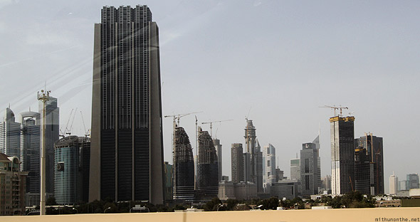 Sheikh Zayed buildings Dubai