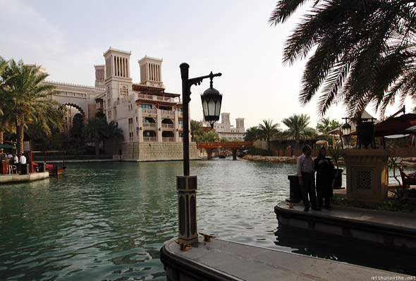 Souk Madinat Jumeirah bridge abra dock
