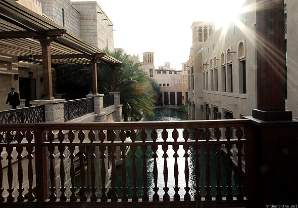 Souk Madinat Jumeirah bridge
