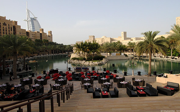 Souk Madinat Jumeirah courtyard waterways