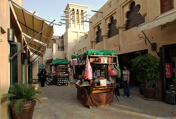 Souk Madinat Jumeirah outside shop carts