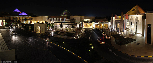Wafi Mall panorama Dubai