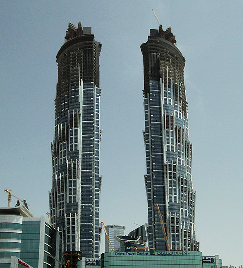 Dnata travel center Dubai office twin towers