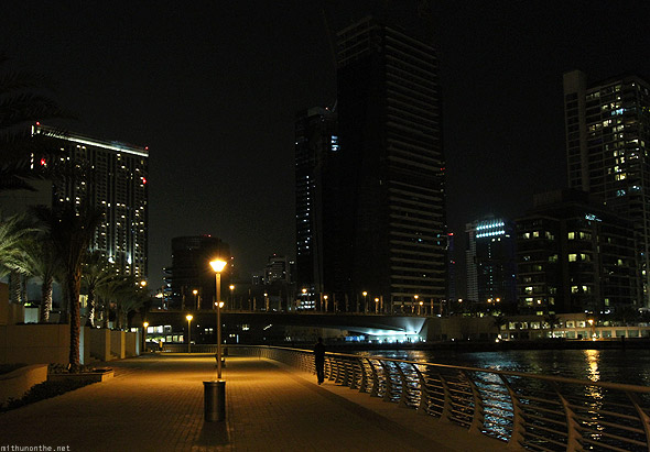 Dubai Marina at night Azhad