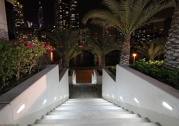 Dubai Marina steps up