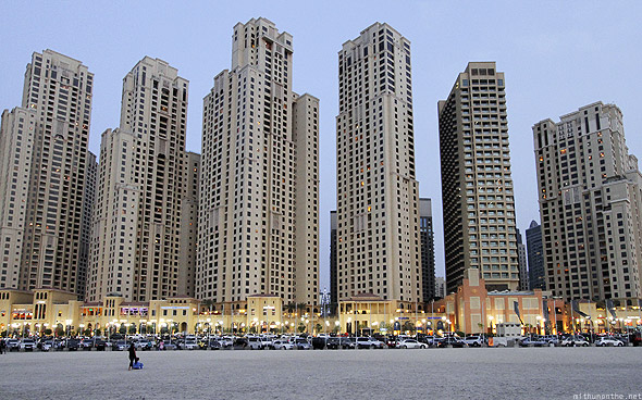 Jumeirah Beach Residences apartments
