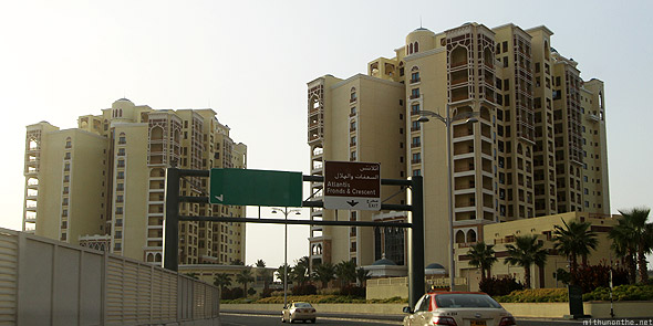 Palm Islands Jumeirah empty apartments