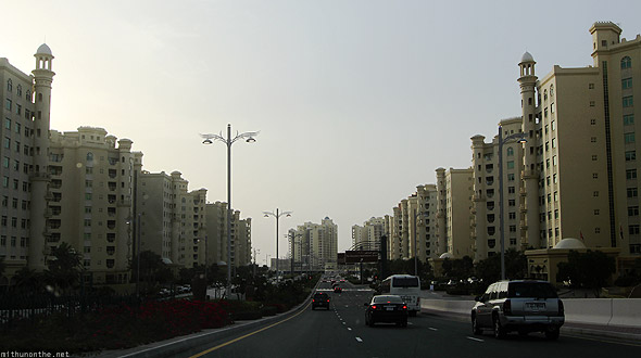 Palm Islands Jumeirah trunk empty apartments