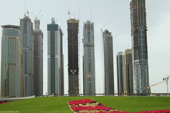 Sheikh Zayed road office towers