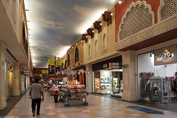 Ibn Battuta India court shops