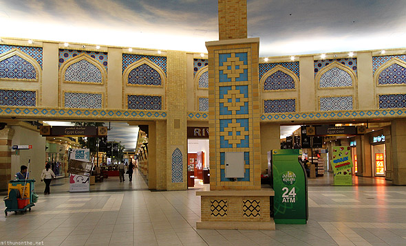 Ibn Battuta Mall entry Egypt court