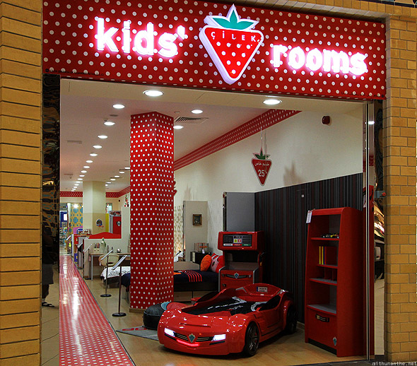 Ibn Battuta mall Persia court kids rooms
