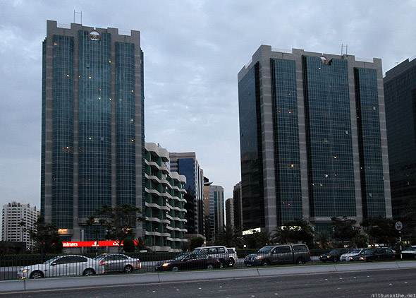 Abu Dhabi corniche road Emirates office