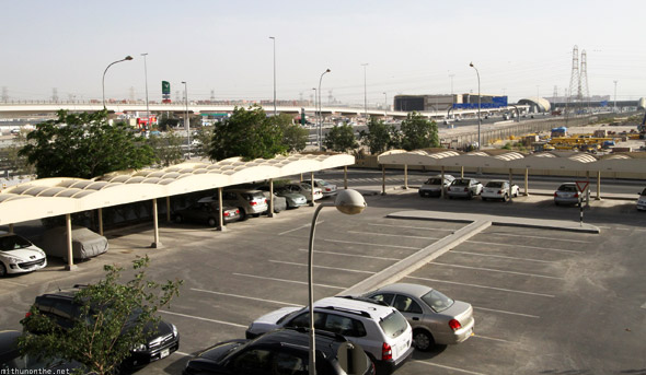 Jebel Ali station flat view