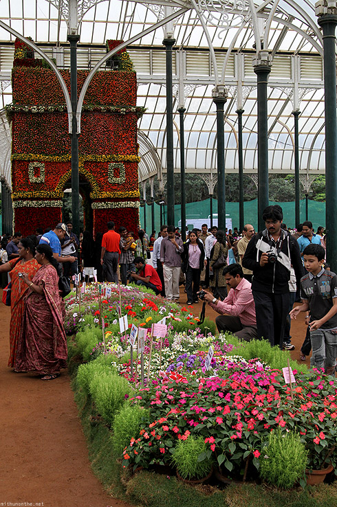 Lal Bagh flower show India Gate side