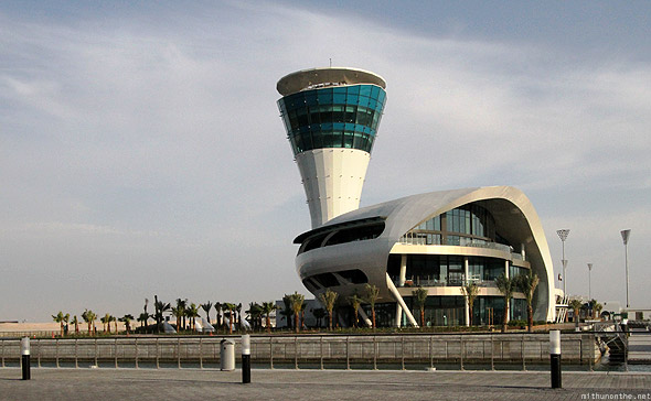 Yas Marina circuit club tower