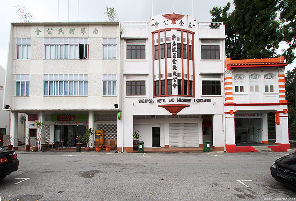 ABC Backpackers Hostel Jalan Kubor building