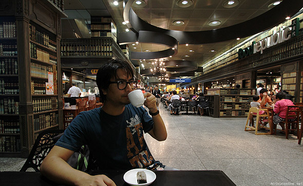 Coffee shop Suntec city mall food republic