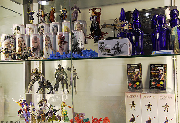 Final Fantasy cans potions figurines Singapore