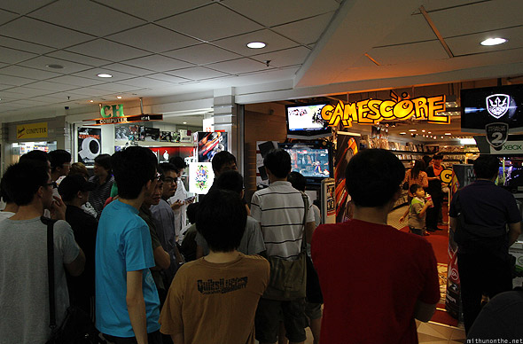 Gamescore Funan IT mall Singapore