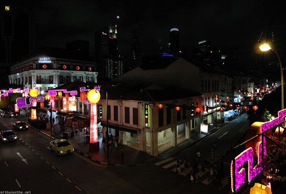 Singapore Chinatown overview