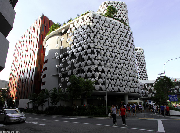 Singapore iluma mall exterior design