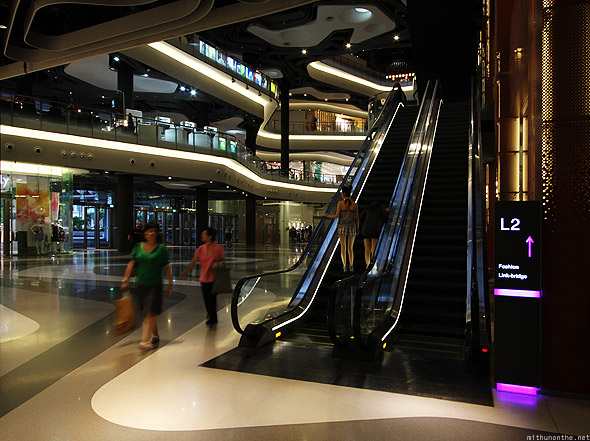 Singapore iluma mall ground floor