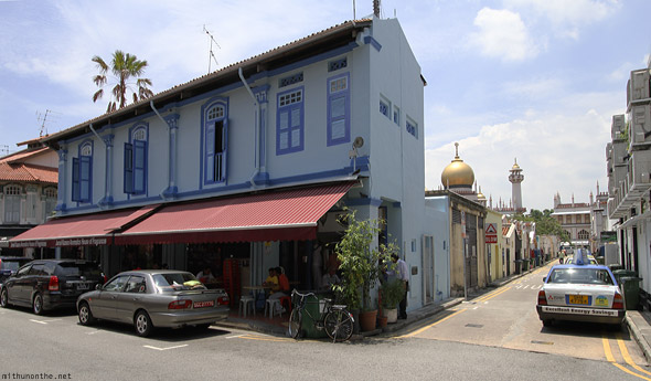 Singapore Kampong Glam cafe alley