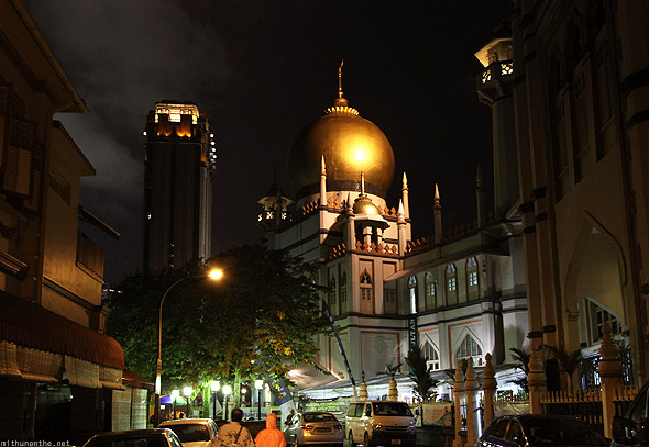 Singapore kampong glam Sultan Mosque