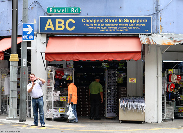 Singapore Little India ABC cheap store Rowell Road