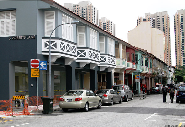 Singapore Little India Roberts Lane
