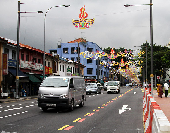 Singapore Little India Serangoon Road