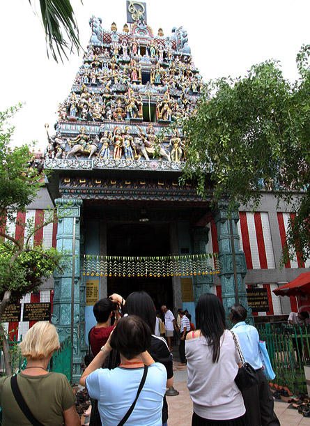 Singapore Little India Sree Veeramakaliamman temple