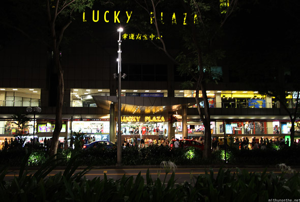 Singapore Lucky Plaza Orchard road