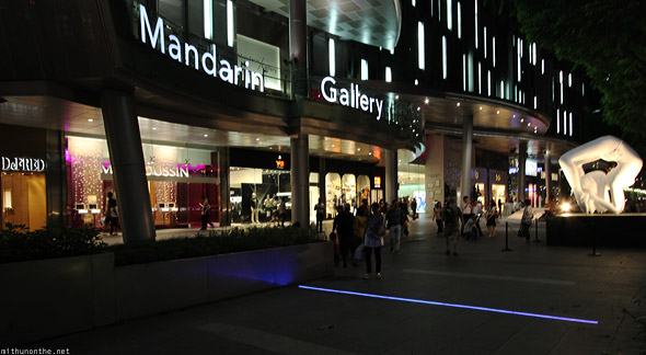 Singapore Mandarin Gallery Orchard road