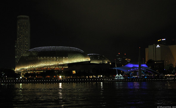 Singapore marina The Esplanade halls F1 night